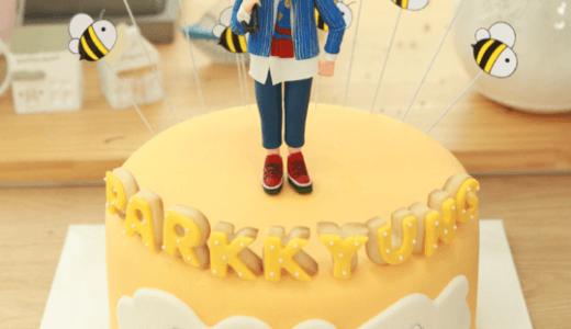 【韓国ケーキサポート代行】お人形ケーキ1段☆