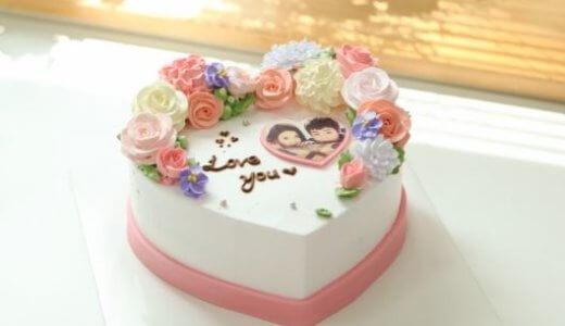 【韓国ケーキサポート代行】ハートブロッサム