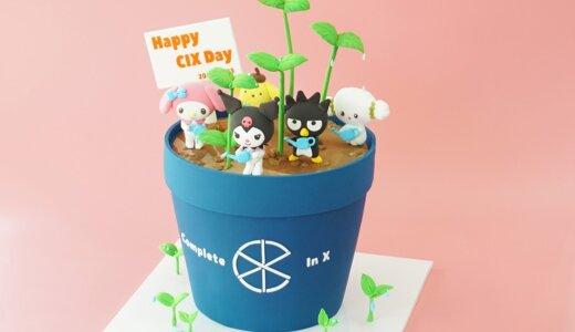 【ケーキ製作事例】CIX